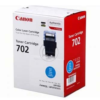 Canon originál toner CRG702, cyan, 10000s, 9644A004, Canon LBP-5960