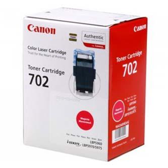 Canon originál toner CRG702, magenta, 10000s, 9643A004, Canon LBP-5960