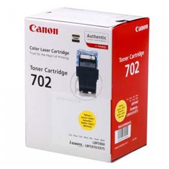 Canon originál toner CRG702, yellow, 10000s, 9642A004, Canon LBP-5960
