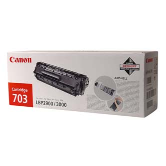 Canon originál toner CRG703, black, 2500s, 7616A005, Canon LBP-2900, 3000