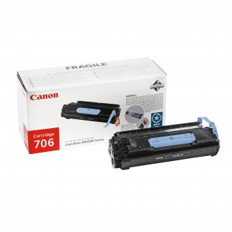 Canon originál toner CRG706, black, 5000s, 0264B002, Canon MF-6500