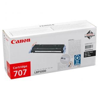 Canon originál toner CRG707, black, 2500s, 9424A004, Canon LBP-5000