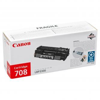 Canon originál toner CRG708, black, 2500s, 0266B002, Canon LBP-3300