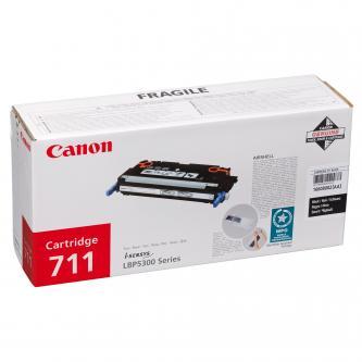 Canon originál toner CRG711, black, 6000s, 1660B002, Canon LBP-5300