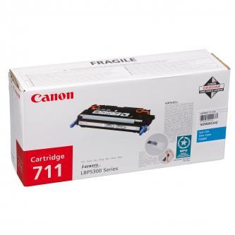 Canon originál toner CRG711, cyan, 6000s, 1659B002, Canon LBP-5300
