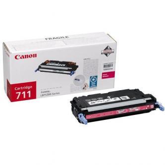 Canon originál toner CRG711, magenta, 6000s, 1658B002, Canon LBP-5300
