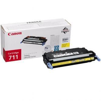 Canon originál toner CRG711, yellow, 6000s, 1657B002, Canon LBP-5300