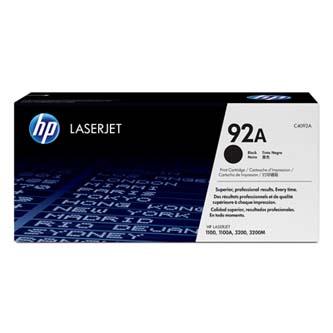 HP originál toner C4092A, black, 2500s, 92A, HP LaserJet 1100, 1100A, 3200