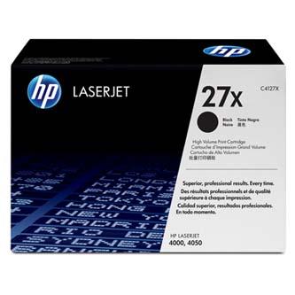 HP originál toner C4127X, black, 10000s, 27X, high capacity, HP LaserJet 4000, N