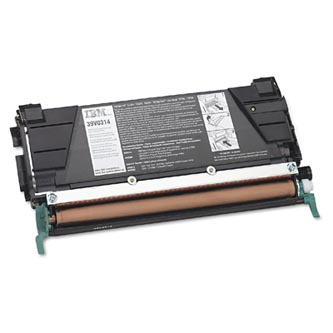 IBM originál toner 39V0314, black, 8000s, return, high capacity, IBM Infoprint 1