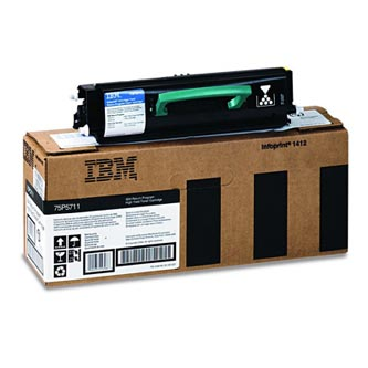 IBM originál toner 75P5711, black, 6000str., IBM Infoprint 1412, 1512