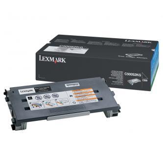 Lexmark originál toner C500S2KG, black, 2500s, return, Lexmark C500