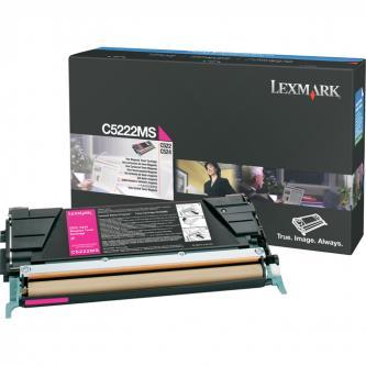 Lexmark originál toner C5222MS, magenta, 3000s, Lexmark C52x, C53x
