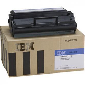 IBM originál toner 28P2412, black, 3000s, IBM Infoprint 1116