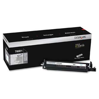 Lexmark originál developer 70C0D10, black, 40000s, Lexmark CX510de, CX410de, CX3