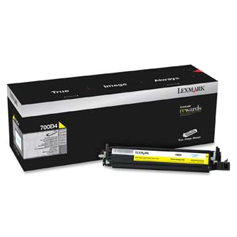 Lexmark originál developer 70C0D40, yellow, 40000s, Lexmark CX510de, CX410de, CX