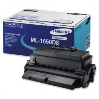 Samsung originál toner ML-1650D8, black, 8000s, Samsung ML-1650