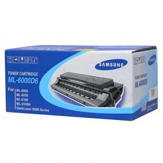 Samsung originál toner ML-6000D6, black, 6000s, Samsung ML-6000, 6050, 6100