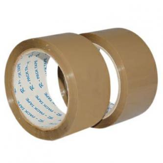 Lepiaca páska havana, hnedá, 48 mm x  66 m, No Name