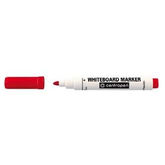 Popisovač 8559, 2.5mm, červený, stieratelný, Centropen