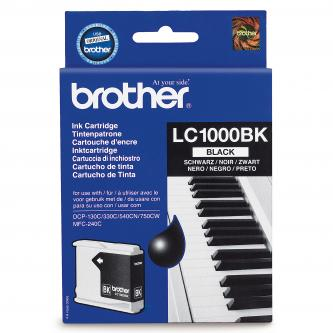 Brother originál ink LC-1000HYBK, black, 900s, Brother MCF-5460DN
