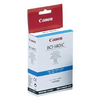 Canon originál ink BCI1401C, cyan, 7569A001, Canon W6400D, 7250