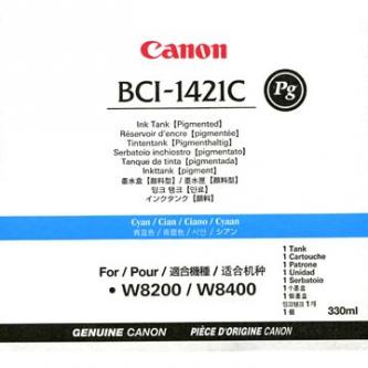 Canon originál ink BCI1421PC, photo cyan, 330ml, 8371A001, Canon BJ W8200, 8400P