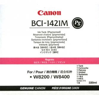 Canon originál ink BCI1421PM, photo magenta, 330ml, 8372A001, Canon BJ W8200, 8400P