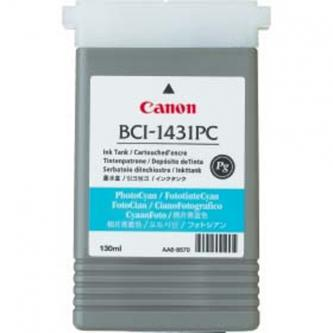 Canon originál ink BCI1431PC, photo cyan, 8973A001, Canon W6200, 6400P