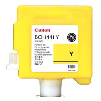 Canon originál ink BCI1441Y, yellow, 330ml, 0172B001, Canon W8400P