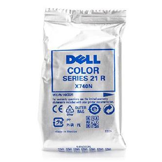 Dell originál ink 592-11333, 592-11334, Y499D, X740N, color, 170str., Dell V313