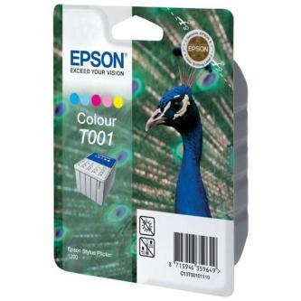 Epson originál ink C13T00101110, photo black, 330s, 66ml, Epson Stylus Photo 1200