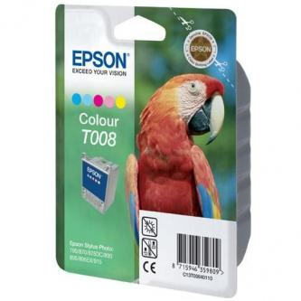 Epson originál ink C13T008401, color, 220s, 46ml, Epson Stylus Photo 870, 875DC, 890, 895, 780, 790