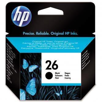 HP originál ink 51626AE, No.26, black, 794s, 40ml, HP DeskJet 4xx, 5xx, DeskWriter 5xx, 660C, C