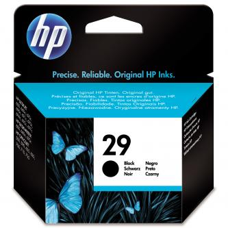 HP originál ink 51629AE, No.29, black, 650s, 40ml, HP DeskJet 600, OJ-700, 710, 500, DeskWriter 660C