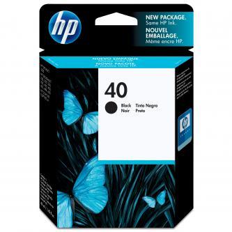 HP originál ink 51640AE, No.40, black, 1100s, 42ml, HP DesignJet 1200C, 650C, 3xx, 430, 488CA