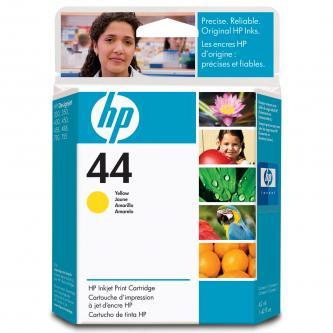 HP originál ink 51644YE, No.44, yellow, 42ml, HP DesignJet 350, 430, 488, 750C, 755CM