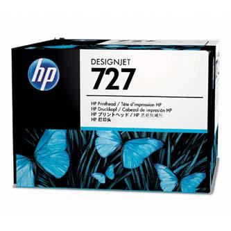 HP originál sada pre výmenu tlačovej hlavy B3P06A, No.727, CMYK, HP DesignJet T1500, T2500, T920
