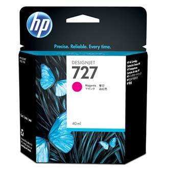 HP originál ink B3P14A, No.727, magenta, 40ml, HP DesignJet T1500, T2500, T920