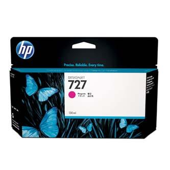 HP originál ink B3P20A, No.727, magenta, 130ml, HP DesignJet T1500, T2500, T920