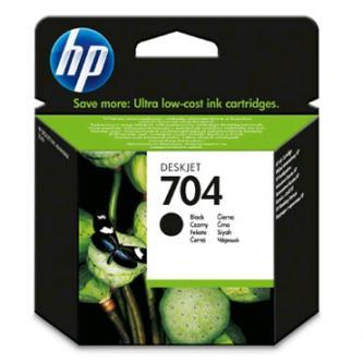HP originál ink CN692AE, HP 704, čierna, 480str., 6mlml, HP Deskjet 2060