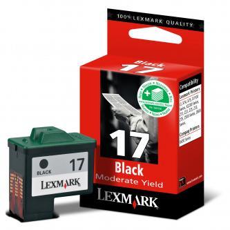 Lexmark originál ink 10NX217E, #17+, black, 235s, Lexmark Z13, Z23, Z33, Z25, Z35