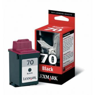 Lexmark originál ink 12AX970E, #70+, black, 690s, Lexmark Z43, Z53, Z42, Z51, Z52, 3200, 5700, 7000, X73