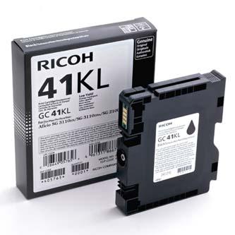 Ricoh originál gelová náplň 405765, black, 600s, GC41KL, Ricoh AFICIO SG 3100, SG 3110