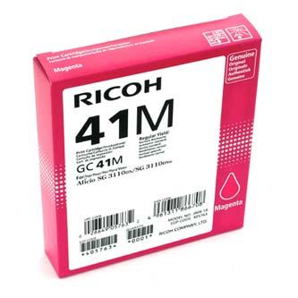 Ricoh originál gelová náplň 405763, magenta, 2200s, GC41HM, Ricoh AFICIO SG 3100, SG 3110