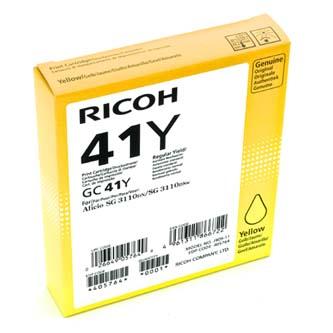 Ricoh originál gelová náplň 405764, yellow, 2200s, GC41HY, Ricoh AFICIO SG 3100, SG 3110