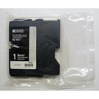 Ricoh originál gelová náplň 402284, black, typ RC-K11, Ricoh G500, 700