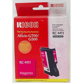 Ricoh originál gelová náplň 402282, magenta, 1000str., typ RC-M11, Ricoh G500, 700