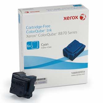 Xerox originál ink 108R00954, cyan, 17300s, Xerox ColorQube 8870, západná Európa