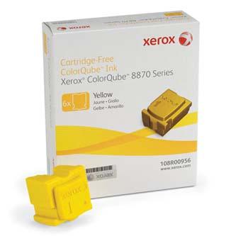 Xerox originál ink 108R00956, yellow, 17300s, Xerox ColorQube 8870, západná Európa